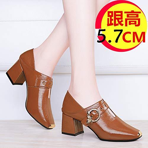 Yukun Yukun Yukun Schuhe mit hohen Absätzen Herbst Schuhe Damen Damenmode Herbst Schuhe dick mit Absatz Herbstmode High Heels df536d