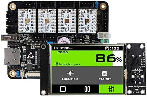 Nrpfell Placa Controladora de Impresora 3D con Kit de Pantalla de ...