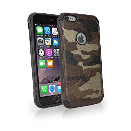 iPhone 6Cas, BoxWave® [camosuit] Imprimé Camouflage résistant Armor Coque pour Apple iPhone 6, 6S–Désert TAN