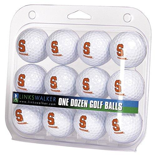 Syracuse Golf Balls - NCAA Syracuse Orange - Dozen Golf Balls
