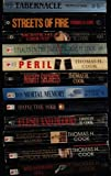 Thomas H. Cook ***12 Book Set*** Breakheart Hill, The Chathan School Affair, Evidence of Blood, Flesh and Blood, Into the Web, Mortal Memory, Night of Secrets, Places in The Dark, Peril, Sacrificial Ground, Streets of Fire, and Tabernacle