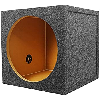Amazon.com: Rockville RS12 Single 12 1.0 cu.ft. 3/4 MDF