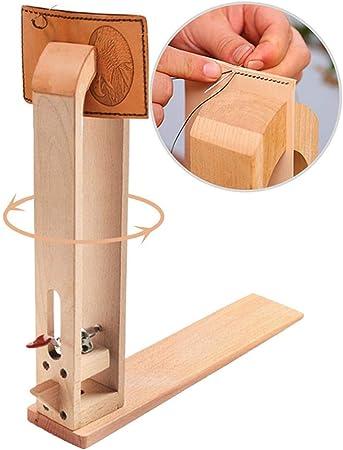 Cordones de madera de cuero para mesa o caballo de costura de ...