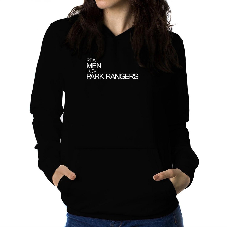 Real men love Park Ranger Women Hoodie