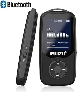 RUIZU X50 8GB-128GB BT MP3 MP4 Player HiFi Lossless FM Radio APE//FLAC//WAV