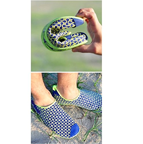 Ballop Spandex/Polymesh Peanut Water Shoes Navy GQAYb