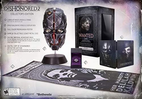 Dishonored 2 – PlayStation 4 Premium Collector's Edition