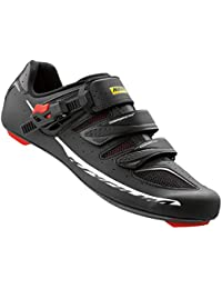 Ksyrium Elite II Cycling Shoe - Mens Black/Racing Red, US 13.5/UK. Mavic