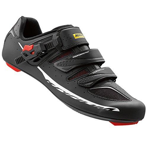 Mavic Ksyrium Élite Ii Chaussures - Noir Hommes / Course Rouge
