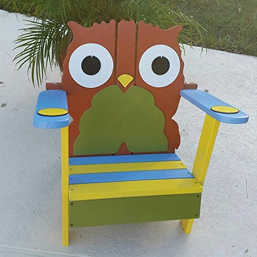 Toddler Owl Chair, Kids Chair, Toddler Gift, Playroom Furniture, Unique Kids  Gift