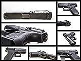 Clipdraw Concealed Carry Belt Clip for Glock 43 - Black