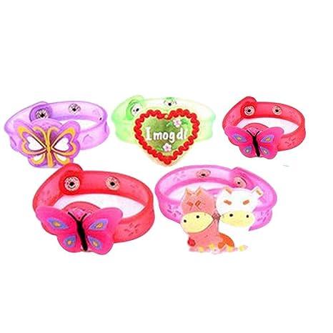 YWLINK - Pulsera LED para niños, diseño de dibujos animados ...