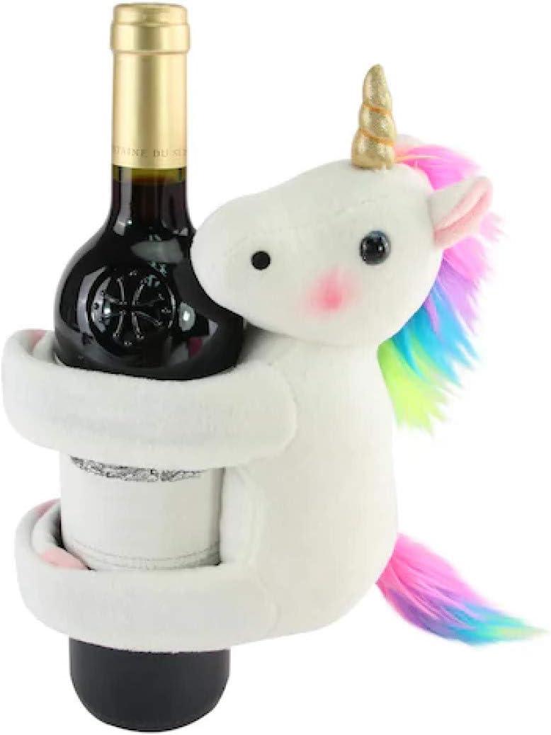 Ebros Wine Of Sacred Purity Unicorn Wine Holder Figurine Kitchen Decoration M...