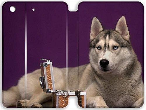 Lidoy Christmas Gifts Cute dog husky casket iPad Mini/Mini 2/Mini 3 (7.9inch)