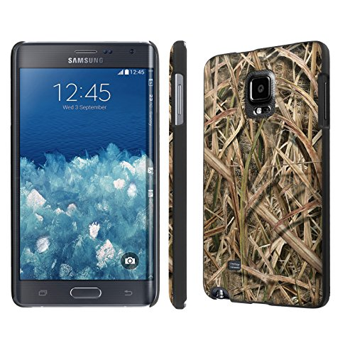 NakedShield Samsung Galaxy Note Edge SM-N915 (Grass Camouflage) Total Hard Clip On LifeStyle Phone Case