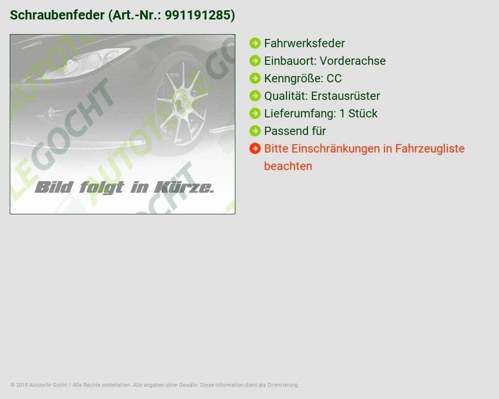 SUPLEX Fahrwerksfeder CITROEN C3 I FC 1.1 1.4 i 60 73 PS vorne