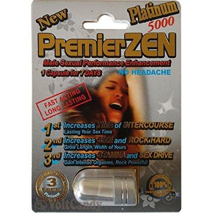 PremierZEN Platinum 5000mg Male Sexual Performance Enhancement %100 AUTHENTIC (1)