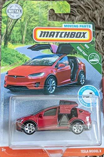 Amazoncom Matchbox 2019 Moving Parts Tesla Model X Toys