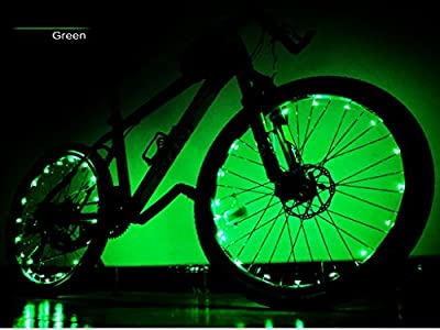 Wheel Bright Linght LED Bicycle Strip Light Bike Rim Lights Waterproof Perfect for Safety and Fun