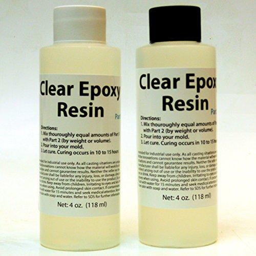 Clear Epoxy Resin (8 oz ) - Buy Online in UAE  | Arts Crafts