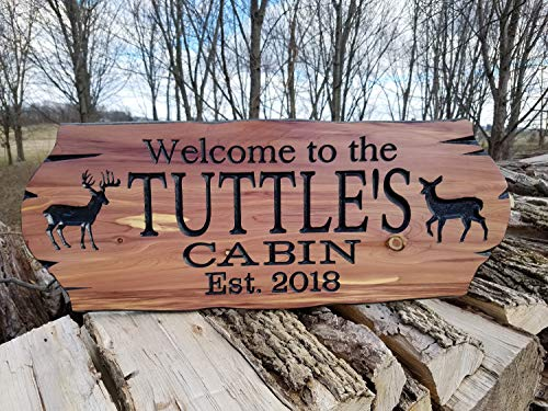 - Olga212Patrick Cabin Wood Plaque Signs Personalized Custom Wood Plaque Signs Family Cabin Wood Plaque Sign Lake Home Outdoor Name Wood Plaque Sign Custom Wood Plaque Signs Custom Wooden House