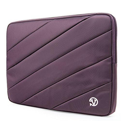 VanGoddy Plum Purple Shock Absorbent Sleeve Fit for Lenovo F