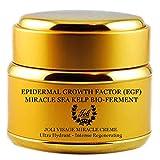 Joli Visage Miracle Creme – Epidermal Growth Factor – Sea Kelp – Hyalauronic Acid – AM/PM Ageless Serum – Premium Anti-Aging Skincare For Sale