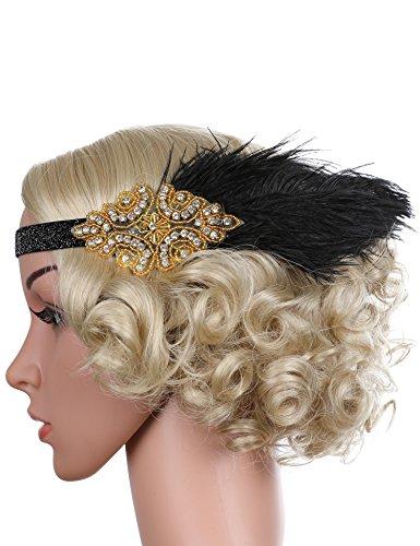 Flapp (Gold Flapper Headband)