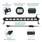Black Lights 2 Pack, OPPSK 27W 9LED UV Black Light