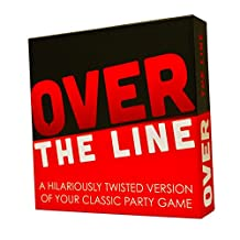 Over The Line Party Game - A Combination Of Charades & Pictionary With Over The Line Words