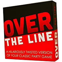 Over The Line Party Game- A Combinaton Of Charades & Pictionary With Over The Line Words