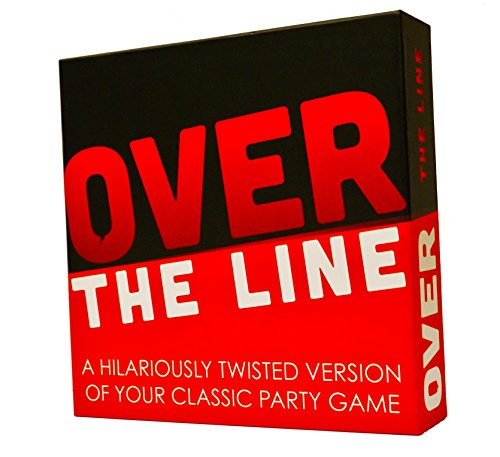 Over The Line Party Game- A Combinaton of Charades & Pictionary -