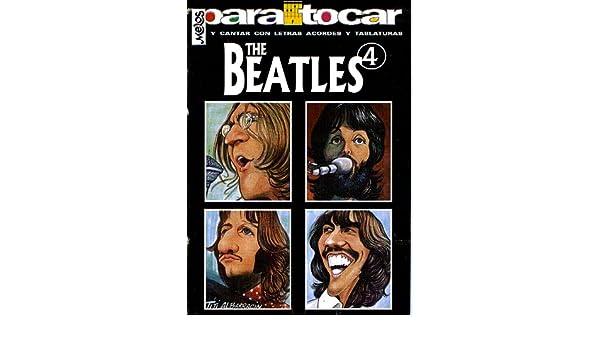 BEATLES - Cancionero Vol.4 Letras y Acordes para Guitarra: Amazon.es: BEATLES: Libros