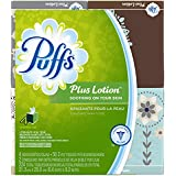 Puffs Plus Lotion Facial Tissues, 56-Tissue Boxes, 24 Count (Packaging May Vary)