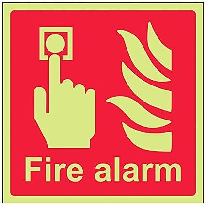 vsafety 13011 am-g el equipo alarma contra incendios señal ...