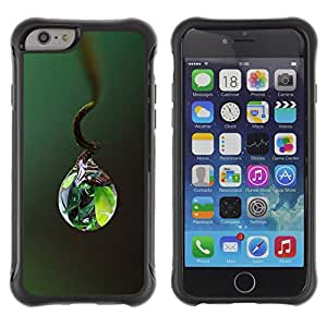 BullDog Case@ Nature Life Water Drop Rugged Hybrid Armor Slim Protection Case Cover Shell For iPhone 6 Plus CASE Cover ,iphone 6 5.5 case,iPhone 6 Plus cover ,Cases for iPhone 6 Plus 5.5