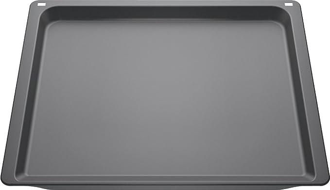 Siemens HZ631070 - Bandeja de Horno (Rectangular, Negro, 1,1 ...