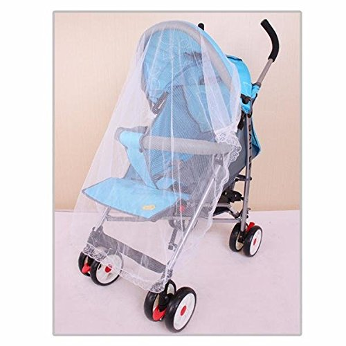 Bazaar 100x90cm Baby Pram Pushchair Mosquito Net Fly Midge Insect Bugs Cover Stroller Protector Polyester Insects Car Big Bazaar