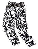 Zubaz Pants: XX-Large Black/White Zubaz Zebra Pants