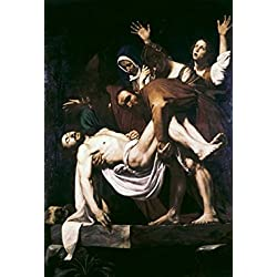 The Deposition Michelangelo Merisi da Caravaggio (1573-1610Italian) Vatican Museums and Gardens Vatican Poster Print (24 x 36)