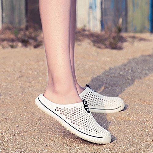 Sentao Unisex Playa Sandalias Antideslizante Transpirable Zapatos Zuecos Jardín Zapatilla Estilo 1
