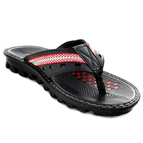 Aerosoft Mens Freddy Sandals Red 8BK04cv