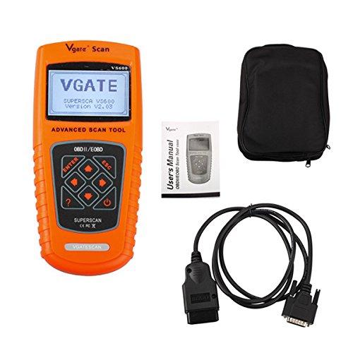 Vgate VS600 Code Reader Scan Tool Advanced OBDII EOBD Scanner Live Data Fault