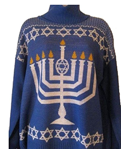 Ugly Chanukah Sweater Menorah