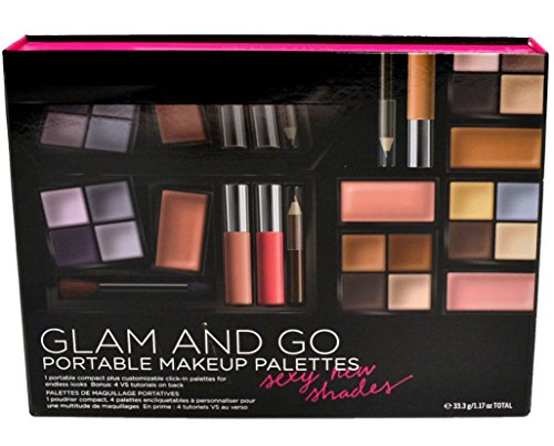 VICTORIAS SECRET GLAM AND GO PORTABLE MAKEUP PALETTES~~SEXY NEW (Sexy Makeup Tutorial)