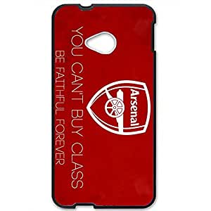 Famous Design FC Arsenal Football Club Phone Case Cover For Htc One M7 3D Plastic Phone Case