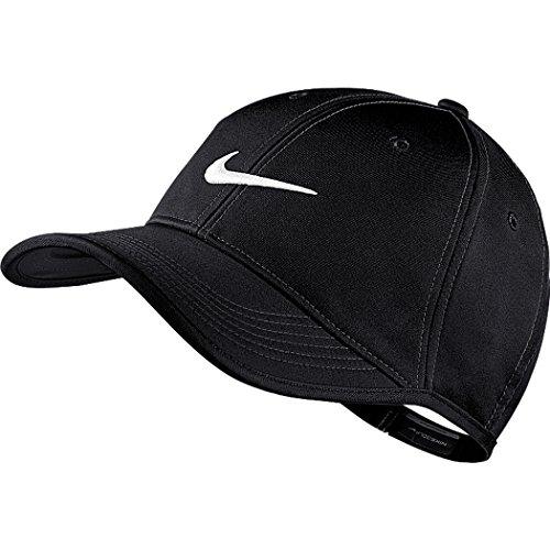 Nike Mens Golf Ultralight Contrast Adjustable Hat Black/White 727037-010