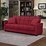 Baja Convert A Couch Sofa Sleeper Bed Crimson Red Sofa Converts Into A Full