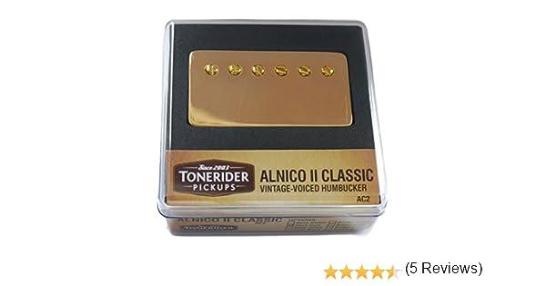 Tonerider ac2b-gd Alnico II – Pastilla para guitarra bridge-gold ...