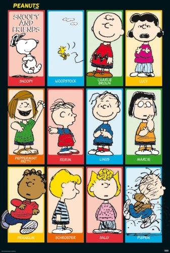 Peanuts - Snoopy & Friends 2 Poster Print